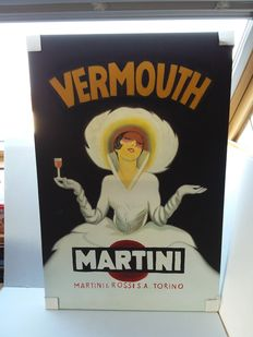 Advertising for Martini, painted on canvas. 1970.