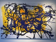 Rick Triest - The contemporary movement compositions - yellow marks - my dearest black and blue