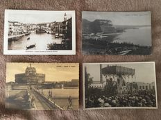 Beautiful lot of approximately 850 various postcards from around the world. A must-see.