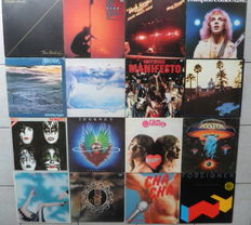 Lot Of 16 Classic Rock Albums