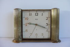 Desk clock -- Swiza -- Approx. 1950