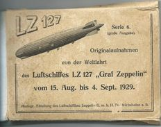 "Unique Folder with footage from world tour airship LZ 127 ""Graf Zeppelin"" 61 x"