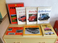 Lot of 7 automobile books