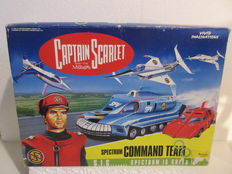 Captain Scarlet - Vivid Imaginations - Spectrum Command Team - 1993
