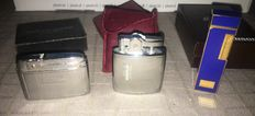 Lot of 3Lighters - 2 Ronson's and Silver Match - The 70's