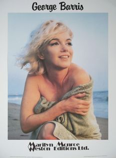 4 x George Barris - Marilyn Monroe - 25th anniversary