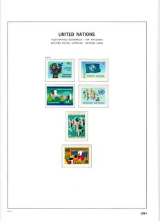 United Nations 1951/1999 – Collection in Davo album and in stock book