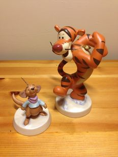 Disney - WDCC - Disney's Tiger & Roo - Sculpted by Dusty Horner - With COA