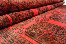 Magnificent Persian/Afghan carpet elephant feet, 295 x 225cm. End of the 20th century