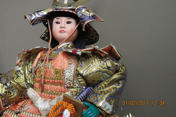 Japanese doll - Japan - Late 20th century