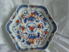 An export porcelain Imari pattipan – China – 18th century
