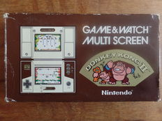 Nintendo Game & Watch - Donkey Kong II Boxed, complete with instructions and battery cover