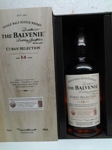 The Balvenie Cuban selection 14 years old ( Limited édition ).