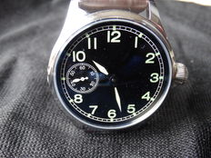 Parnis Big Pilot Sterile Dial - Men's wristwatch - Never Worn