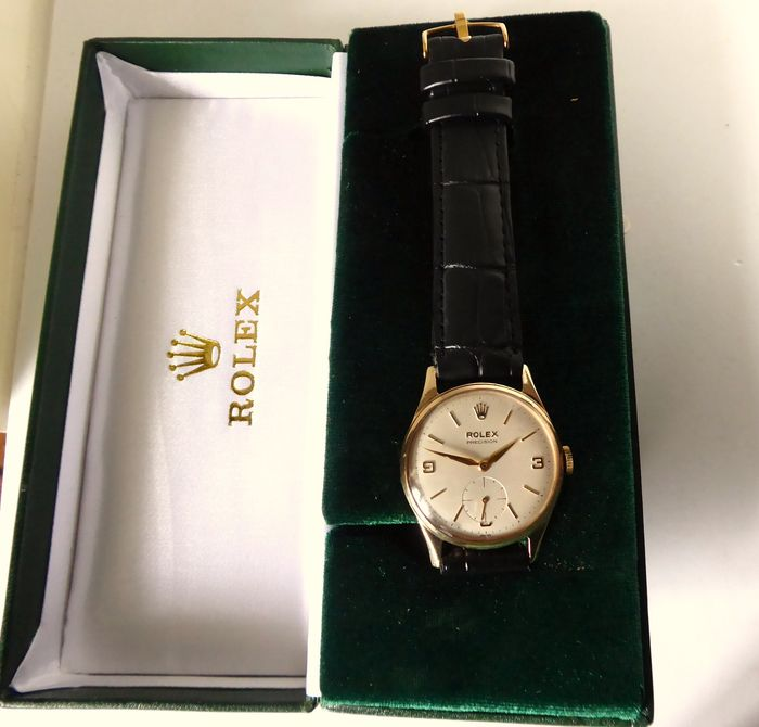 Rolex - Triple signed Gents' wrist watch - 1959-1960