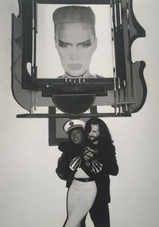 Robin Kaplan - Grace Jones - LFI - New York - 1986/87