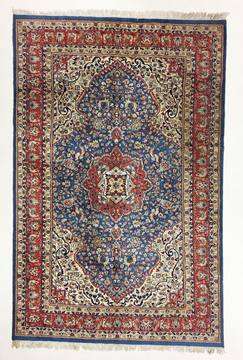 tapis indien isfahan 283 x 180 cm catawiki. Black Bedroom Furniture Sets. Home Design Ideas