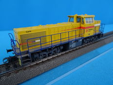 "Marklin H0 - 37658 - Diesel Locomotive ""CARIN"" S 1206 of the MaK ""Structon Rail Infra"""