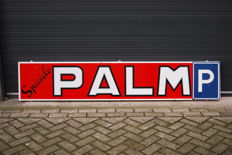 Enamel sign 'Speciale Palm' from 1969