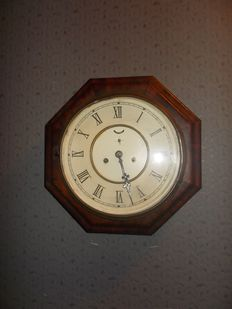 German school wall clock - Junghans period 1900/1920