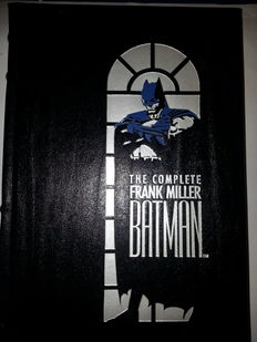 The Complete Frank Miller Batman - Leatherbound Hardcover - 1st Edition - (1989)