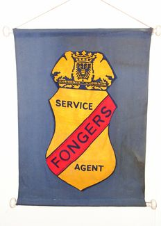 Fongers-linen advertisement for service/agent-ca 1940