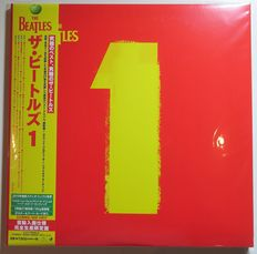 The Beatles - 1 * Rare 2Lp, 180 Gram Japanese Import, Includes Obi, Poster + 4 Large Postcards + Booklet. * Universal Music ‎– UIJY-75065/6. 2015 Release. Mint