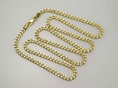 14k Gold. Chain. Length 50 cm. No reserve price.