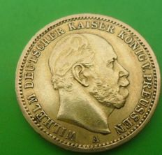 German Empire, Prussia - 20 Mark 1873 A - gold