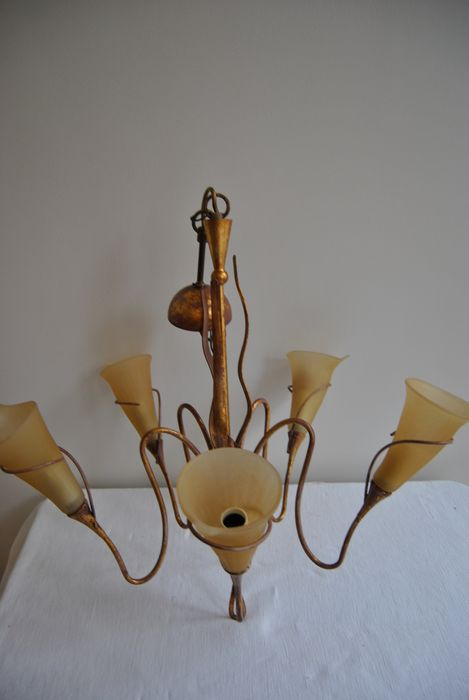 Design chandelier with Murano glass, Italian design, Koot Amsterdam ...