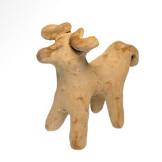 Near Eastern Terracotta Votive Bull, 10.7 cm L