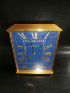 Pendulum by Jaeger-LeCoultre - Lapis Lazuli dial - Approx. 1970