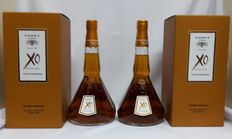 2 bottles of Godet XO Cognac 40% abv 2x 700ml in OB