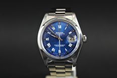 Rolex Date – Automatic – Blue dial – Year: 1980