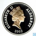 Alderney 5 pounds 2002 (PROOF)