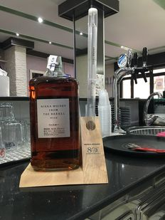 Nikka from the Barrel 3 liter bottle with display stand