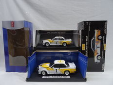 Sun Star - Scale 1/18 - Lot with 2 Rally Opel Ascona 400 models