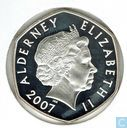 Alderney 5 pounds 2007 (PROOF)