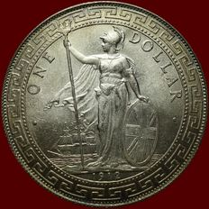 United Kingdom - Trade Dollar 1912 - silver