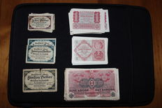 World - collection of banknotes - approx. 250 pcs worldwide