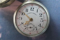 Nice vintage Roskopf Patent pocket watch, approx. early 1900s, signed Diplome d'Honneur Milan 1906