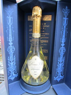 2006 Louis XV – a bottle of (75 cl) brut champagne in the original packaging.