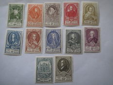 Belgium 1929/1952 – Selection of stamps, between COB 291C and 891