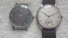 Luxor and Erax Extra Watch. 1940  Two military watches.