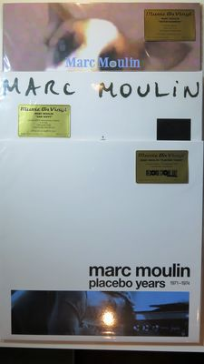 Marc Moulin - Great lot of 3 limited, numbered, coloured and long deleted releases on 180 gram vinyl. A total of 4 LP's of this Belgian jazz pianist and composer...