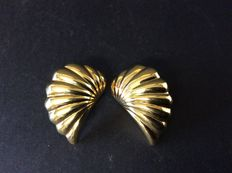 """Angel wings"" earrings  1960s, Italy"