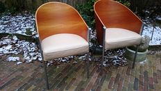Philippe Starck voor Aleph - 'King Costes' chairs (2 x)