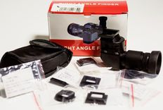 New professional angle viewer 1-2,5X for Canon EOS, Nikon, Fuji, Pentax, Olympus, Minolta, Sony ....