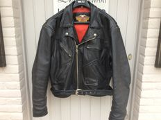 Beautiful leather Harley-Davidson bomber jacket