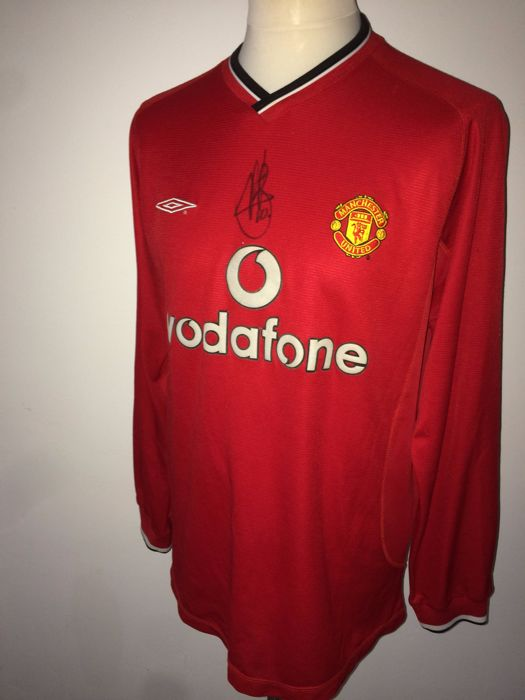 quite nice 55dbe 0b107 Ruud van Nistelrooy, original signed Manchester United Home ...